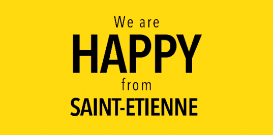 Happy from Saint-Etienne