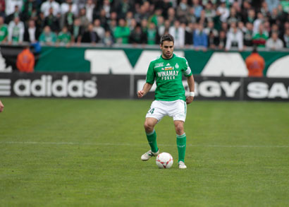 Loïc Perrin, capitaine de l'ASSE / Photo DR