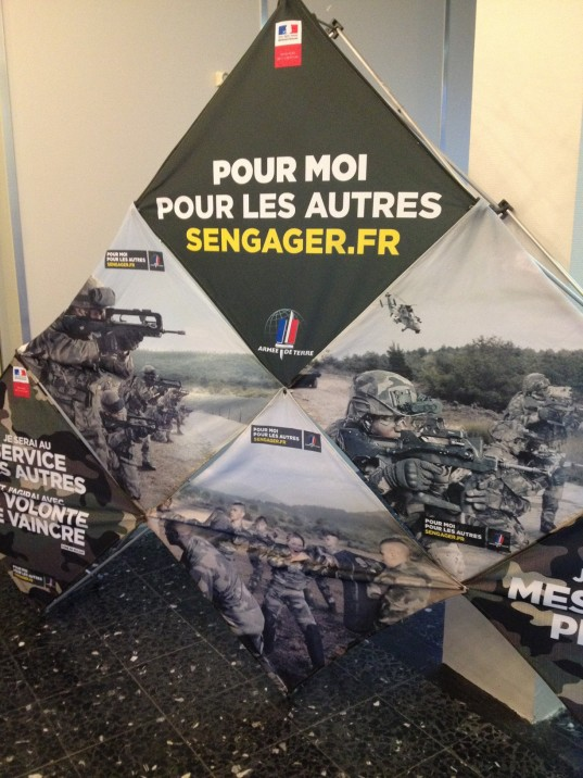 L'armée recrute / Photo Activ Radio