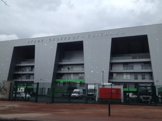 Le stade Geoffroy-Guichard à Saint-Etienne / Photo Activ Radio