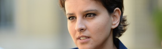 La ministre de l'éducation nationale, Najat Vallaud-Belkacem / DR
