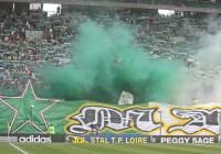 Le Kop Nord de Geoffroy-Guichard / Photo ACTIV RADIO