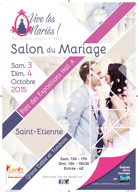 salon du mariage de saint etienne activ radio. Black Bedroom Furniture Sets. Home Design Ideas