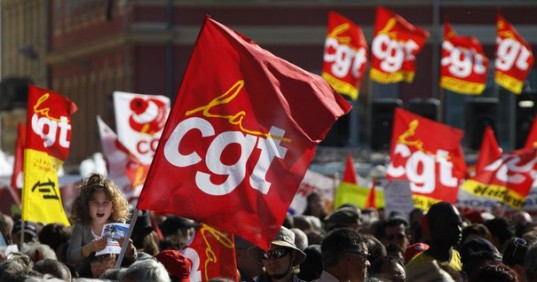Un drapeau de la CGT (illustration) / photo DR