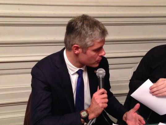 Laurent Wauquiez / Photo ACTIV RADIO