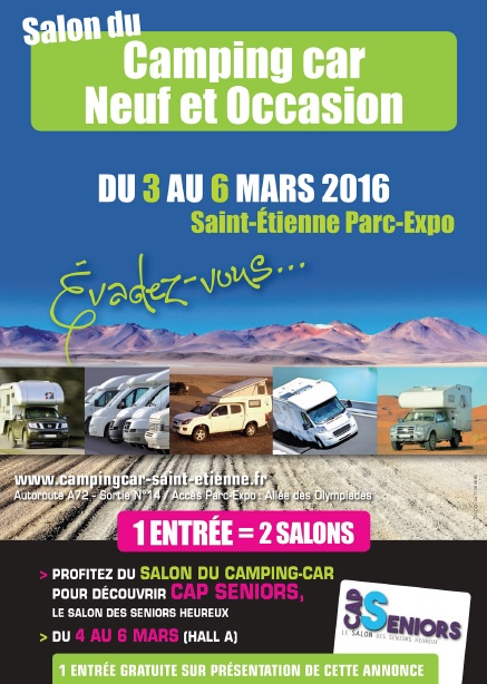 salon du camping car neuf et occasion st etienne activ radio. Black Bedroom Furniture Sets. Home Design Ideas