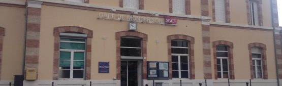 La gare de Montbrison / Photo ACTIV RADIO