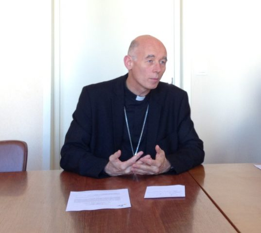 Monseigneur Sylvain Bataille / photo ACTIV