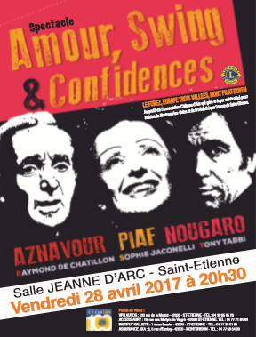 AMOUR SWING ET CONFIDENCES