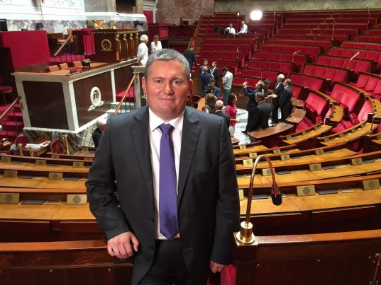 Julien Borowczyk, député de la Loire - Photo Facebook