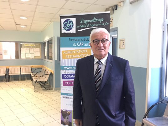 Paul Salen, président du CFA Les Mouliniers / Photo ACTIV