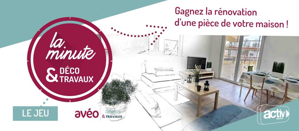 la minute d co travaux le jeu activ radio. Black Bedroom Furniture Sets. Home Design Ideas
