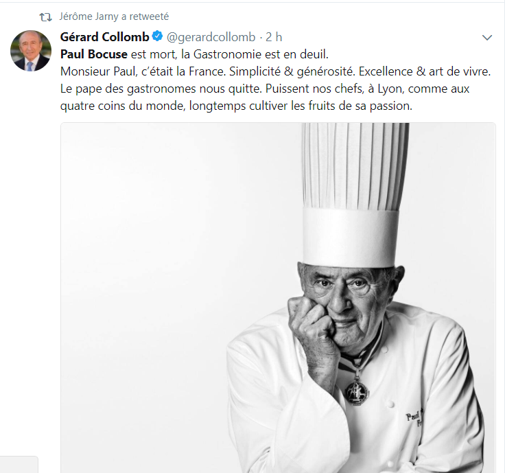 BOCUSE COLLOMB