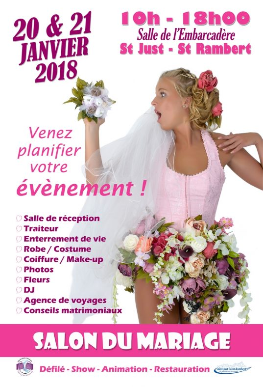 SALON DU MARIAGE ST JUST ST RAMBERT 2018
