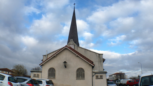 L'église de Bonson / Photo ACTIV RADIO