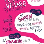 FETE VILLAGE ST CHRISTO