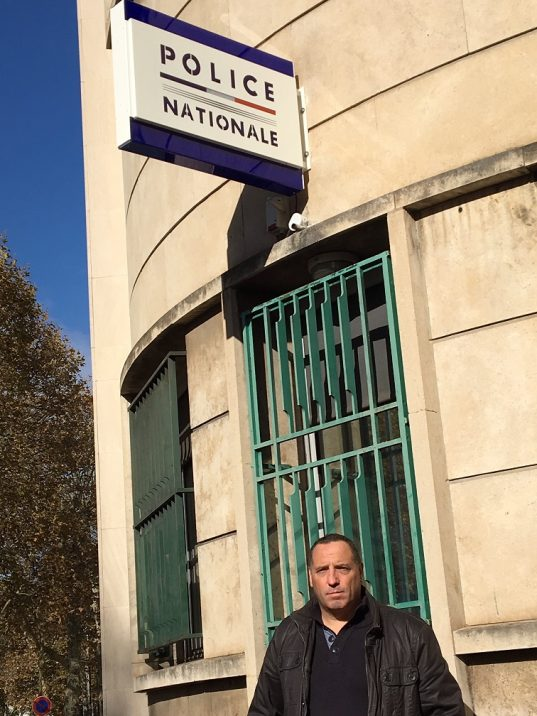 Pierre Cognard, syndicat Alliance police Loire / photo ACTIV RADIO