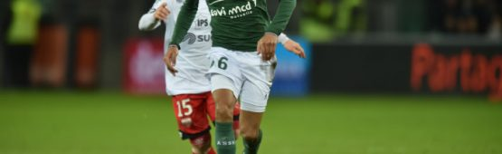 Yann M'Vila (ASSE) / photo DR