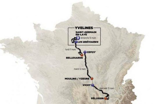 L'édition 2019 du Paris - Nice partira de Saint-Germain-en-Laye