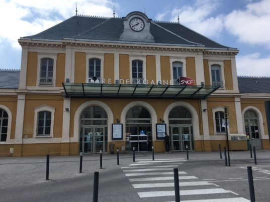 La gare de Roanne / photo ACTIV RADIO