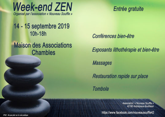 Week end zen CHAMBLES