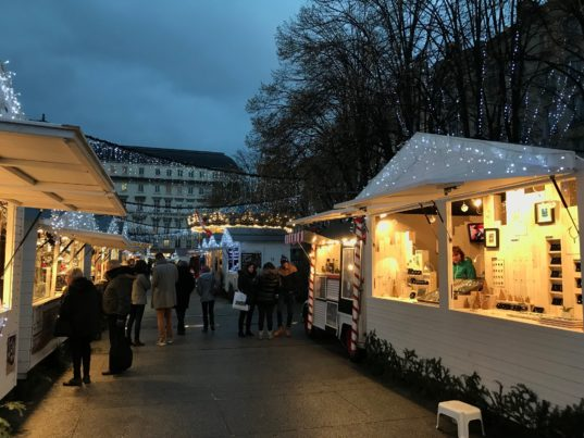 Marché de Noël 2018 Saint-Etienne  Photo @ActivRadio