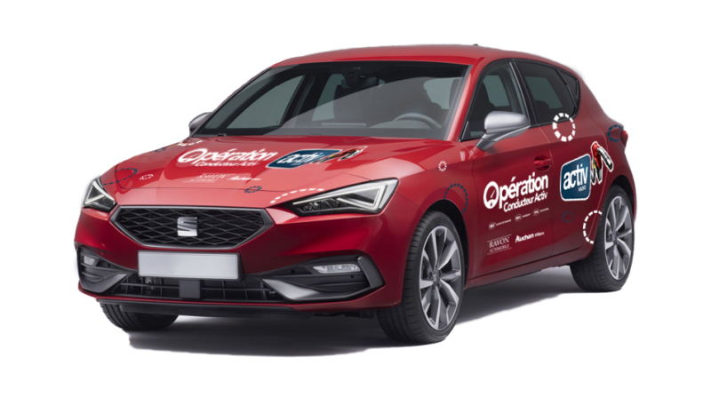 seat leon operation conducteur activ