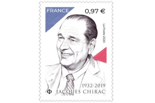 Timbre Jacques Chirac