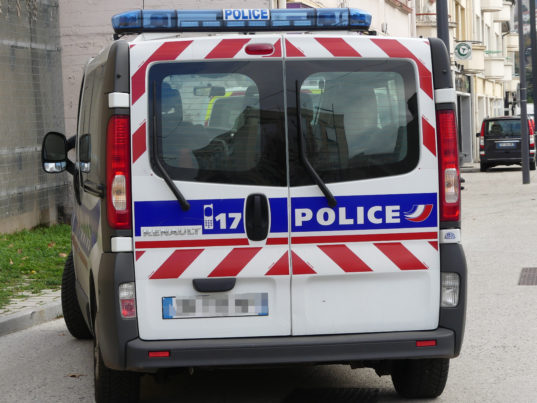 Photo Twitter Police Nationale 42