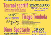 affiches et flyers OLYMPIADES SOLIDAIRES